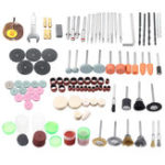 New 147Pcs Mini Grinder Polishing Wheel Rotary Tools Accessories Kit for Polishing Grinding Sanding