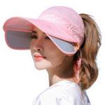 New Adjustable Sunshade UV Cover Face Cap Men Femal Outdoor Travel Running Summer Beach Wild Sun Hat