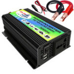 New 3000W Power Inverter DC 12V to AC 220V Boat Car Inverter USB Charger Converter