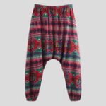 New Mens Ethnic Style Printed Elastic Waist Casual Pants