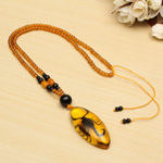 New Unique Natural Insects Amber Scorpion Inclusion Pendant Necklace Gemstone Ornament Crafts Gifts Decorations