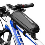 New PROMEND 14E57 Bike Front Frame Bag Waterproof MTB Road Bicycle Storage Bag Outdoor Bicycle Pouch
