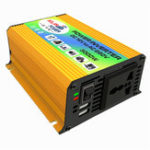 New DC 12V to AC 220V Power Inverter Modified Sine Wave USB Charger Boat Car 600W Converter