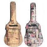 New 41 Inch Water-resistant Oxford Cloth Double Padded Straps Guitar Gig Bag Guitar Carrying Case