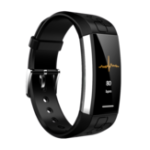New Bakeey MJ02 Real-time ECG+PPG Heart Rate Detection Call Vibration Reminder Weather Smart Watch Band