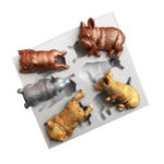 New 3D Animal Models Silicone Fondant Chocolate Cake Mold Baking Mould Sugar Craft
