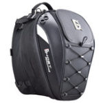 New GHOST RACING 10inch Motorcycle Racing Helmet Backpack Tail Bags Reflective Cycling Luggage Big Capacity Saddlebags