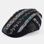 New Ultra-thin Breathable National Wind Beret Caps