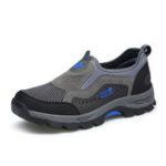 New Anti-Collision Toe Lightweight Slip On Outdoor Sneakers