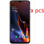 New Bakee 3PCS Anti-explosion HD Clear Tempered Glass Screen Protector for OnePlus 7 / OnePlus 6T