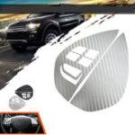 New Car Steering Wheel Button Sticker For Mitsubishi ASX Lancer Outlander RVR Pajero Sport