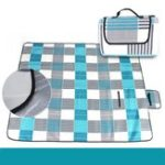 New 3-Layers Large Picnic Mat Cashmere Waterproof Rug Outdoor Camping Blanket