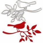 New Bird & Tree DIY Cutting Dies Stencil Scrapbook Card Album Paper Embossing Decorations