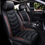 New Wear Proof PU Leather Car Seat Cover Cushion 5-Seat Front Rear Pillows13Pcs kit