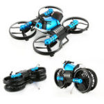 New HeHengDa Toys H6 2.4G 2 In 1 Electric RC Deformation Motorcycle Drone WIFI Control Car RTR Model