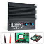 New 12V 600W 3D Crystal Power Input Car Audio Subwoofer Amplifier Board Player