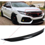 New Front Hood Bumper Protector Trim Cover Fits For 2016-2018 Honda Civic All Model