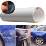 New 40x200cm Car Door Edge Clear Protective Satin Finish Vinyl Wrap Guard Film Sheet Transparent Sticker Cover Coat