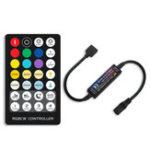 New 28Keys RF Mini Remote Control RGB+CCT Constant Current LED Strip Controller for Indoor Lights DC5-24V