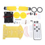 New DIY Smart Car Kit Infrared Remote Control Car Infrared Receiver MCU Electronic Production Kit