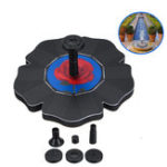 New Solar Powered Floating Bird Bath Water Panel Fountain Pump Garden Pond Pool