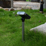 New Solar Spotlight Adjustable Lawn Lamp Landscape Courtyard Outdoor Garden Light