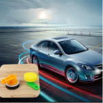 New Car Waxing Cleaning Sponge Delicate Soft Plastic Handle Round Waxer Car Maintenance Tools