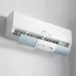New  54-70cm Adjustable Windshield Air Condition Deflector Baffle Anti-wind Shield Baffle Cold Air Conditioner Wind Shield Anti Direct Blowing