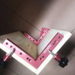 New Drillpro 120/140/160mm 90 Degree L-shaped Auxiliary Fixture Positioning Panel Fixing Clip Woodworking Clamping Tool