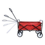 New Folding Wagon Cart Garden Shopping Beach Cart Camping Tool Helper