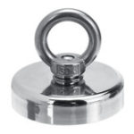 New Pro 220LBS D48mm Round Neodymium Magnet Salvage Recovery Fishing Kit with 20M Rope