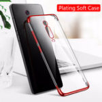 New Bakeey Plating Transparent Soft TPU Protective Case for Xiaomi Mi9T / Xiaomi Mi 9T Pro / Xiaomi Redmi K20 / Redmi K20 Pro