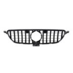 New Silver GT Style Front Grille Grill For Mercedes Benz GLE Coupe W292 C292 GLE350 2016-2018