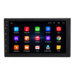 New 7200C 7Inch 2Din for Android 8.1 1+16G Car MP5 Player Quad Core Stereo Radio GPS WIFI RDS Support Carema
