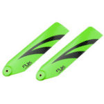 New 1Pair RJX 110mm Carbon Fiber Tail Blade For 700 RC Helicopter