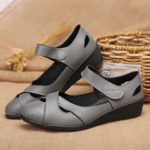 New Women Hollow Out Comfy Hook Loop Flats