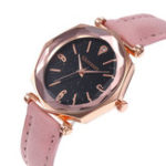 New Deffrun Shining Dial Display Flower Elegant Ladies Watch