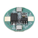 New 1S 3.7V 18650 Lithium Battery Protection Board 2.5A Li-ion BMS with Overcharge and Over Discharge Protection