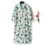New Cotton Shirt Nightgown