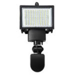 New 100 LED Floodlight Solar Powered Infrared Motion Sensor Security Light Solar Garden Light