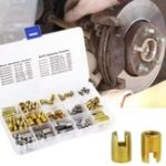New 116PCS Self-tapping Thread Slotted Sheath and Wire Threaded Jacket Combination Thread Repair M3-M12 Tools Kit