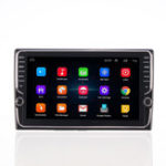 New 9 Inch Quad Core For Android Car Stereo Radio Touchscreen GPS Navigation Wifi AM with Dual Knob