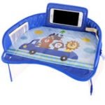 New  Multifunctional Cartoon Kids Car Table Toy Food Drink Phone Holder Car Child Safety Seat Tray Waterproof Stroller