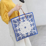 New Women Printing Handbag Large Capacity Shoulder Bag