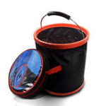 New 12L Collapsible Folding Water Bucket For Outdoor Boating Camping Fishing Car Washing