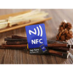 New (5 Pcs/Lot) NFC Smart Stickers Tag Ntag216 13.56mhz RFID Tag Card for All NFC Android Phone