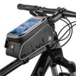New Waterproof Reflective Large Capacity Universal Bike Front Frame Bag Front Tube Bag