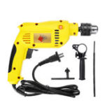 New 1880W 3800rpm Electric Impact Drill Wrench 13mm Chuck Brushless Motor Power Tools