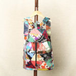New Women Ethnic Canvas Patchwork Crossbody Bag Backpack