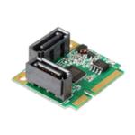 New SSU MINI PCI-E to SATA3 Mini Expansion Card 6Gbps SSD Hard Disk Interface for Windows XP Vista 7 8